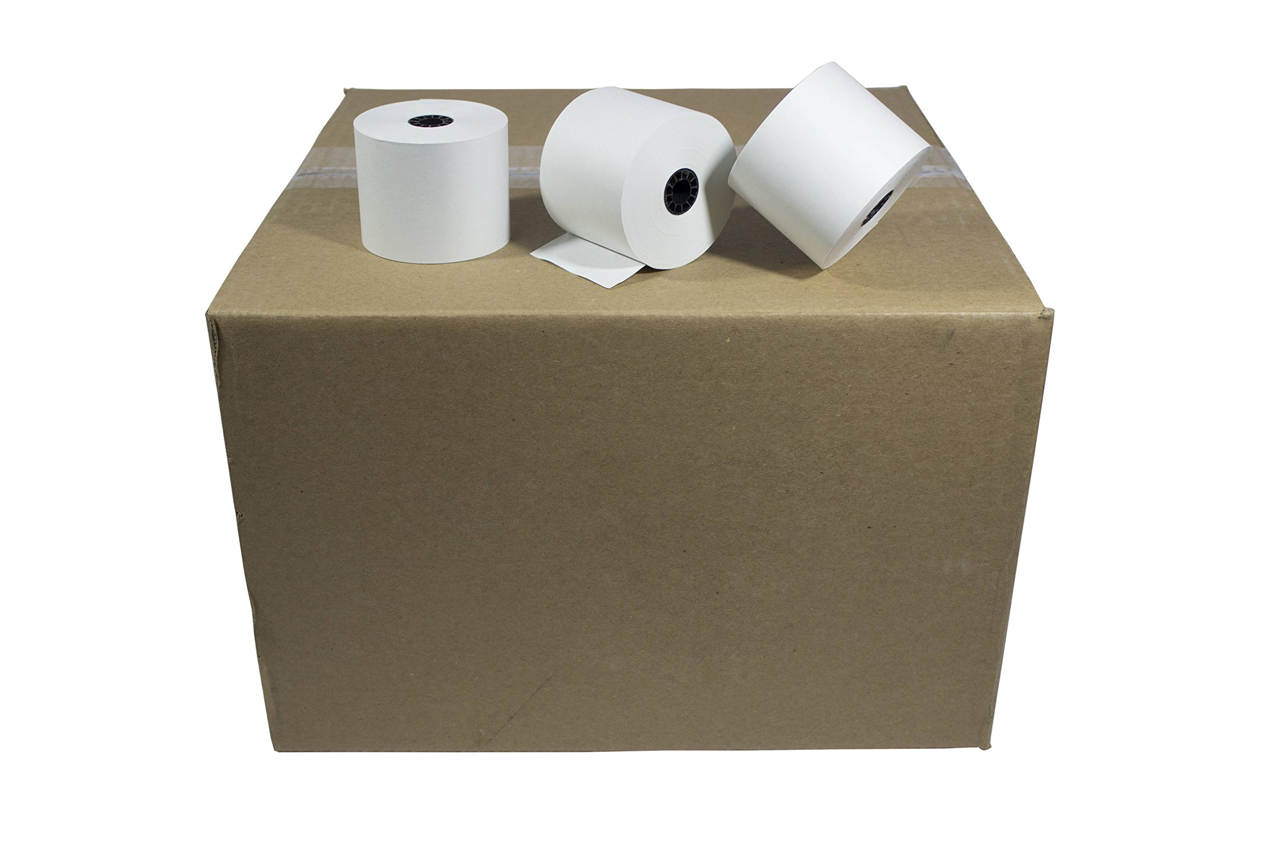 Paper Rolls One-Ply Adding Machine/Calculator 2-1/4'' x 150 ft White 100/Ctn