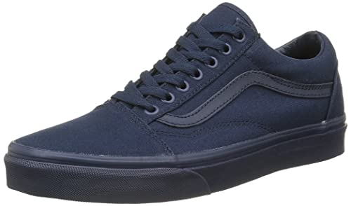 vans old skool basse blu