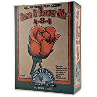 Down To Earth 6-Pound Rose & Flower Mix 4-8-4 7802