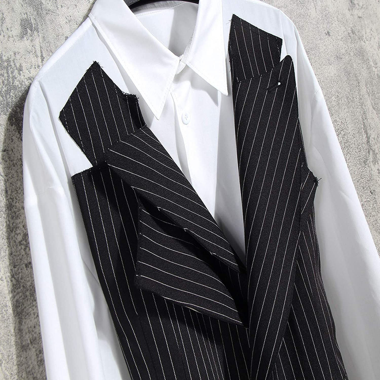 HOSD Traje Chaleco Cosido Camisa Corbata Cintura Color a ...
