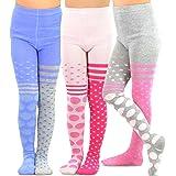 Trellis Floral TeeHee Kids Girls Fashion  Footless Tights 3 Pair Pack