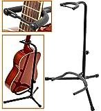 Gitarrenständer Gitarrenstativ gepolsterte Auflagen für Akustik Gitarre Westerngitarre und E-Gitarre