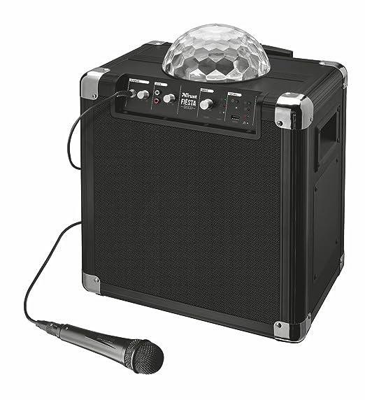 16 opinioni per Trust Urban Fiësta Disco Altoparlante Portatile con Microfono, Wireless,