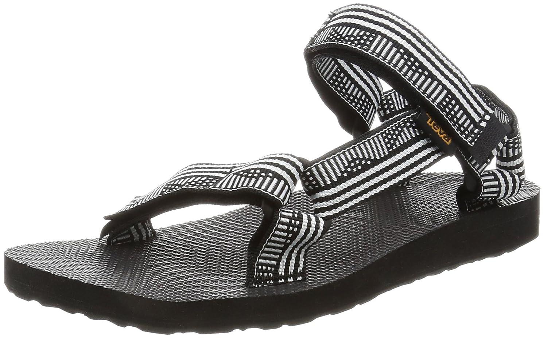 Teva Women's Original Universal Sandal B01IPXRT5W 5 B(M) US|Campo Black/White