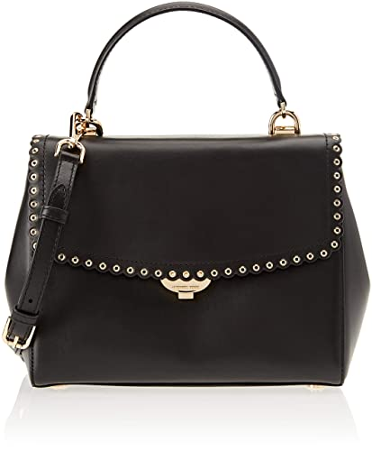 cbbd817055b650 Michael Kors Womens Ava Satchel Black (BLACK): Handbags: Amazon.com