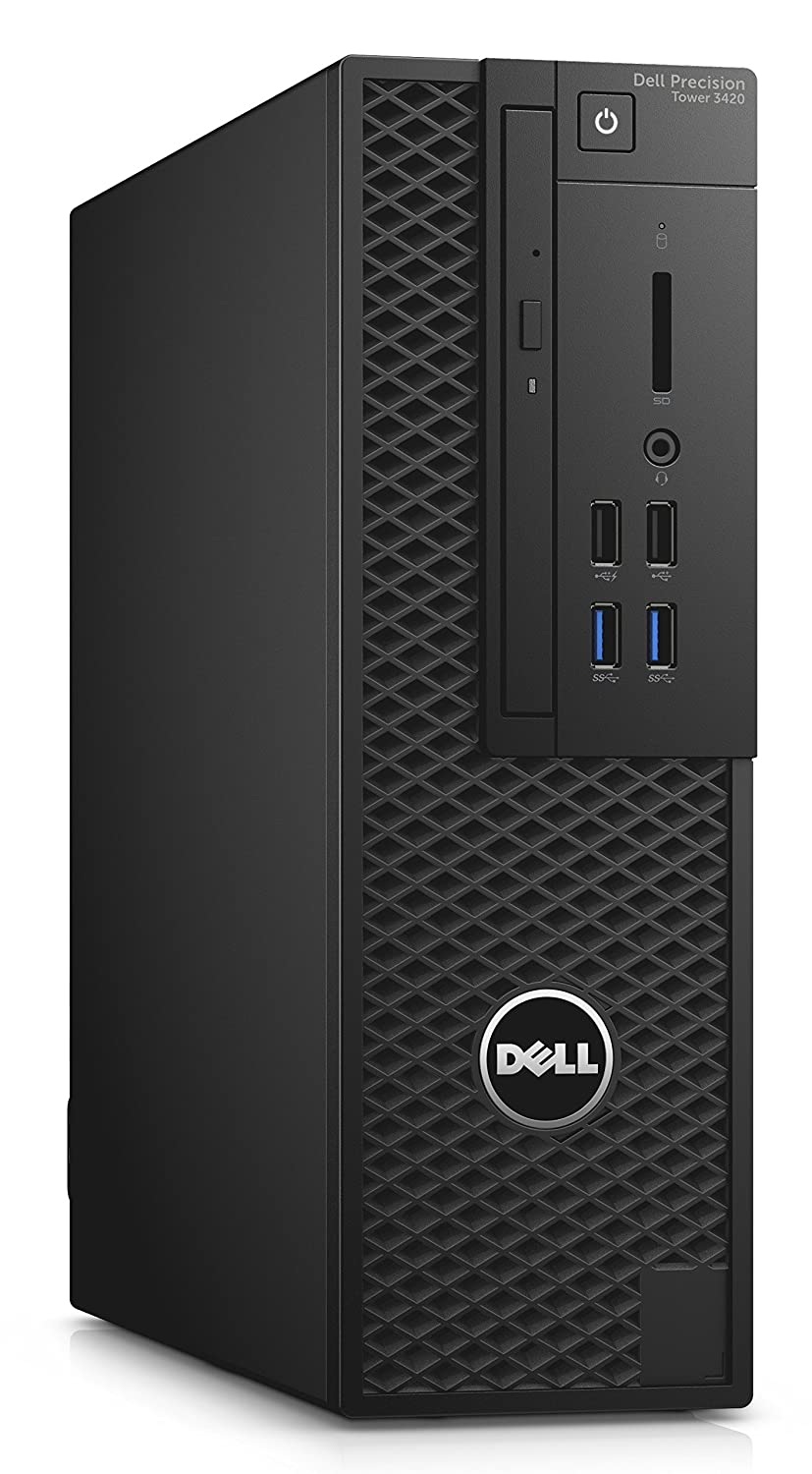 Dell Precision T3420 - Workstation - Core i7 3,6 GHz - RAM: 8 GB DDR4 - HDD: 256 GB - HD 600 NVIDIA Quadro P600