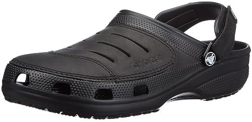 Yukon, Hombre Zueco, Negro (Black/Black), 39-40 EU Crocs