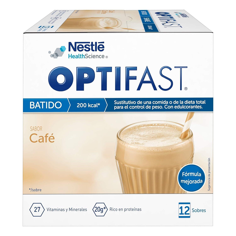 OPTIFAST Batido Café, envase de 12 sobres x 53 gr: Amazon.es ...