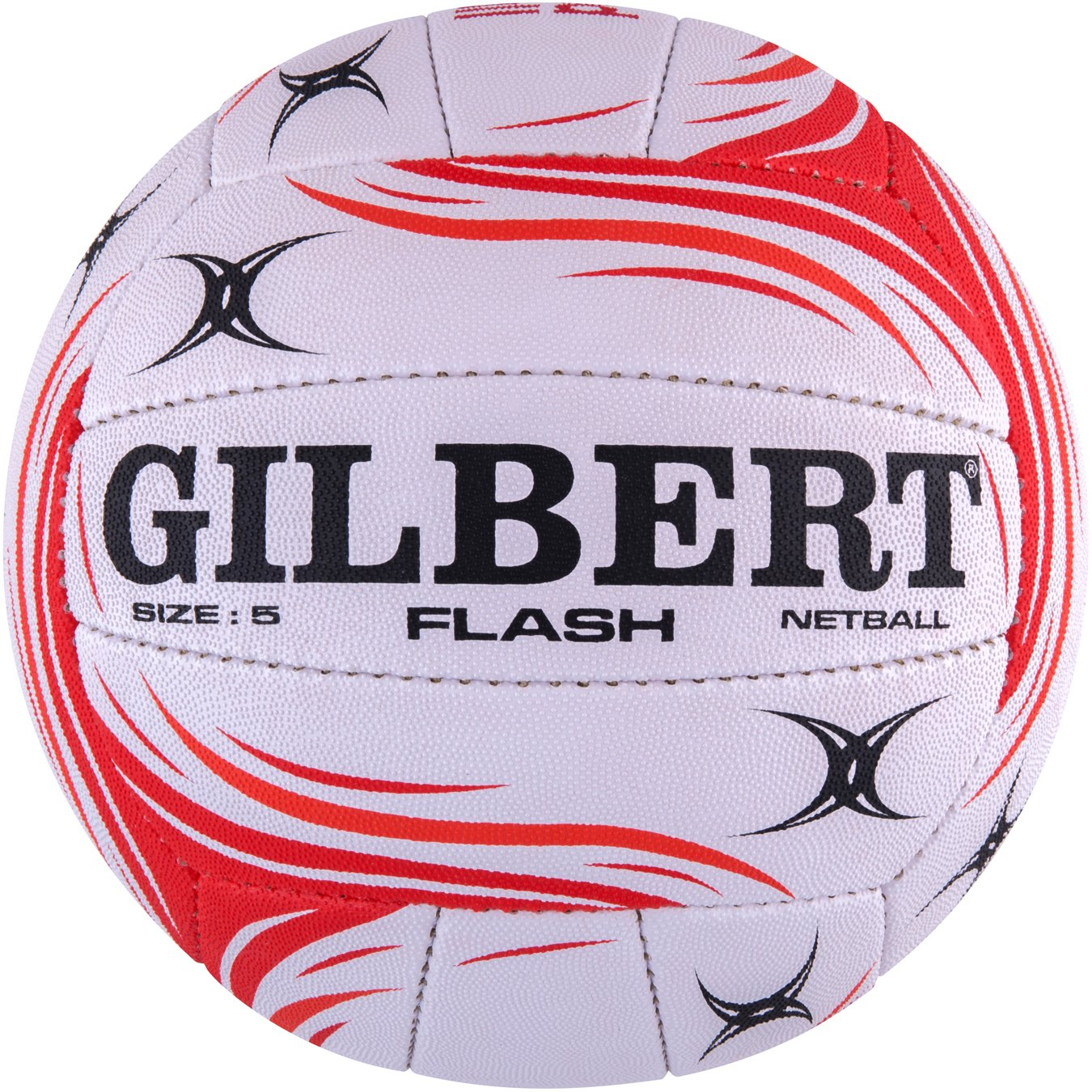 England Flash Official Netball - Red/White Size 5 Grays 86886805