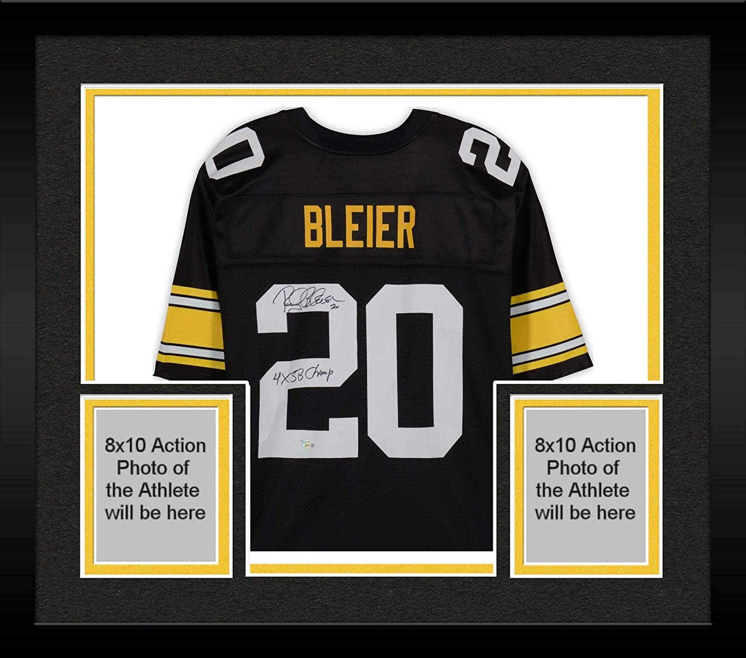 sneakers for cheap 10c0c 08687 Framed Rocky Bleier Pittsburgh Steelers Autographed NFL Pro ...