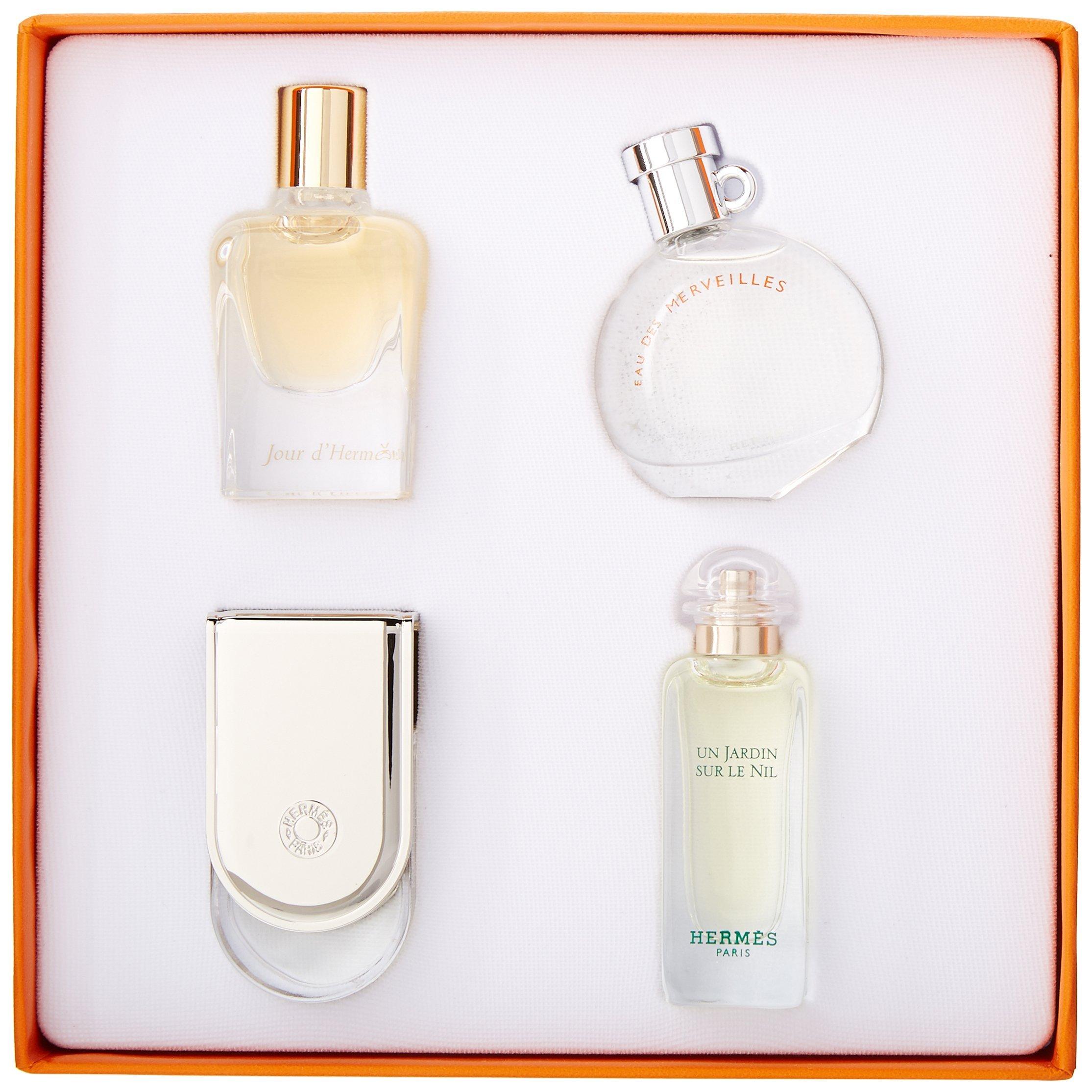 Hermes Miniature Fragrance Coffret, 4 Count