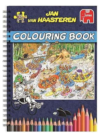 Jan van Haasteren Colouring Book Libro/álbum para colorear - Libros ...