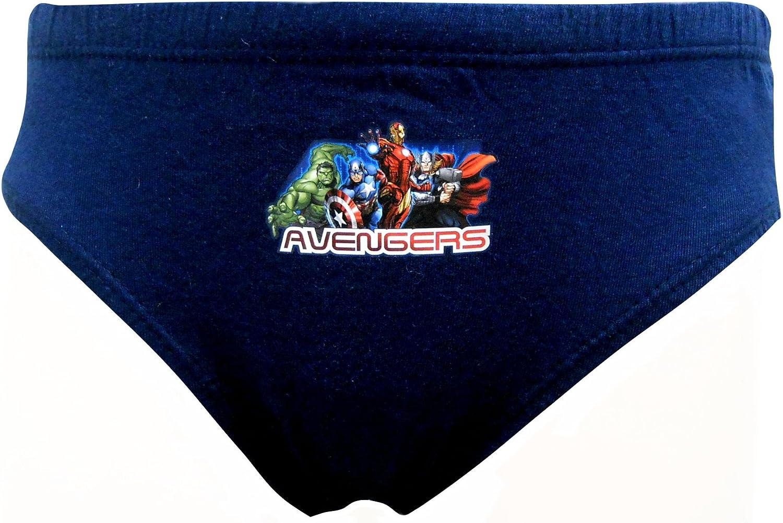 Marvel Avengers Team Avengers Boys 6 Pack Briefs Underpants 5-6 Years