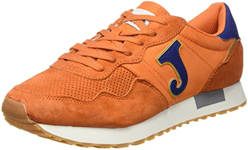 Joma C.367 MEN 608 NARANJA-MARINO - Zapatos polideportivas al aire libre, unisex, color naranja, talla 44