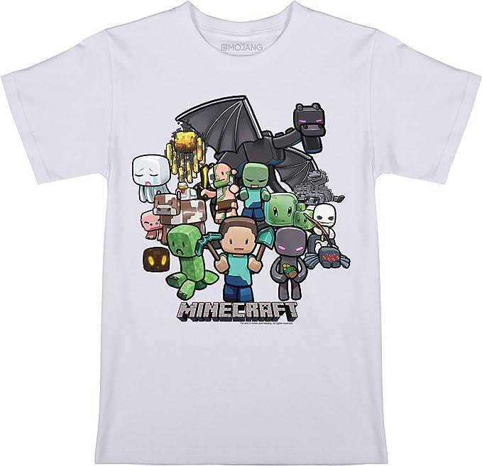 Minecraft Boys Box Figure T-Shirt