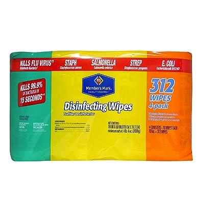 Miembros de Mark Toallitas desinfectantes Variety Pack – 4 Pk. – 78 CT. cada