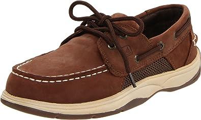 SPERRY Boys Intrepid Boat Shoe Little Kid /& Big Kid Linen 4 M