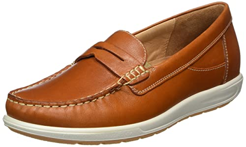 GanterGRACE, Weite G - Mocasines Mujer, Color Marrón, Talla 40.5 EU: Amazon.es: Zapatos y complementos