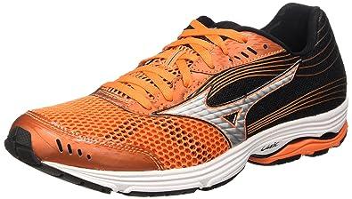 28b7b973a47385 Mizuno Wave Sayonara 3, Chaussures de Running Compétition Homme -  Multicolore (Vibrant Orange
