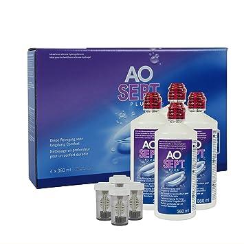 Rabatt suche nach dem besten schön und charmant Alcon Aosept Plus Systempack, 4 x 360 ml, 1er Pack (1 x 1.44 l)