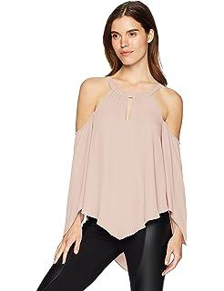 6727d357915 Amazon.com: BCBGMAXAZRIA Women's Kamila One-Shoulder Top: Clothing