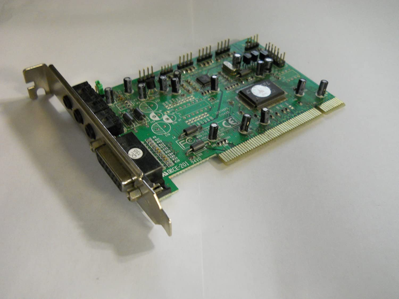 Amazon.com: Crystal – Tarjeta de sonido 4281 PCI, pt-2620 ...