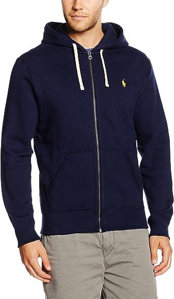 Polo Ralph Lauren Ls Fz Hood Pkt Ppc Sweat Shirt à Capuche Homme