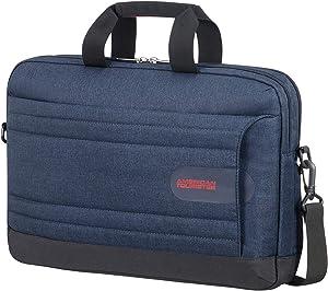 American Tourister Unisex Adult Briefcase, Midnight Navy, 44cm=17.32''