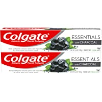 2-Pack Colgate 4.6 Ounce Essentials Charcoal Teeth Whitening Toothpaste