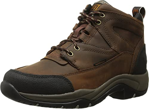 Ariat Women's Brown Terrain H2O Waterproof Lace Up Work Boots//Shoes 10004134
