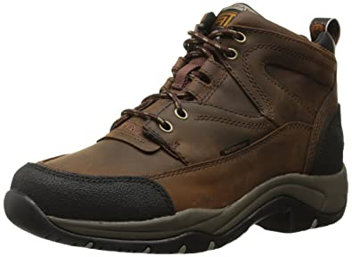 Amazon.com | Ariat Women's Terrain H2O Hiking Boot Copper | Ankle ...