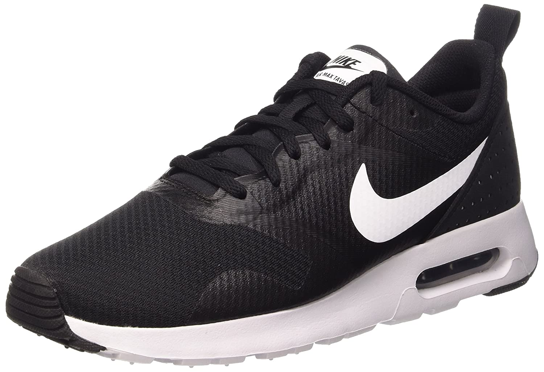 Nike Herren Air Max Tavas Low-Top  47.5 EU|Schwarz (Black/White-black)