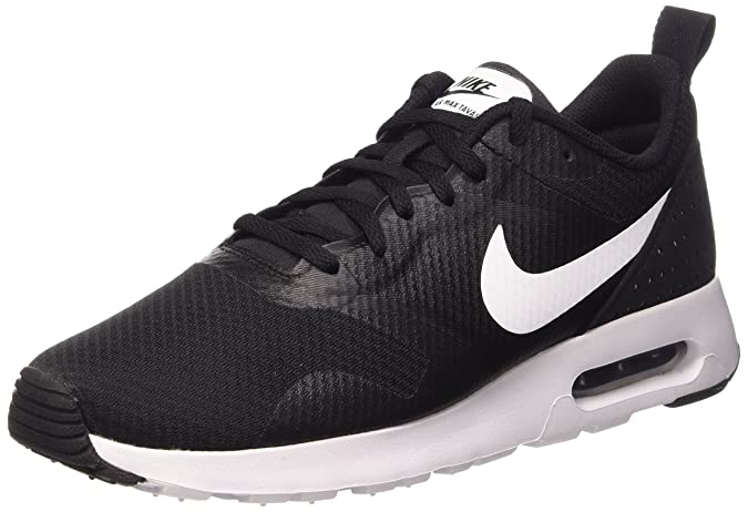 online store dee6c ec6b7 Nike Air Max Tavas, Chaussures de Running Compétition Garçon, Bleu  (Obsidian White