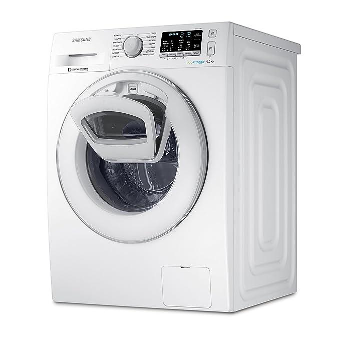 22 opinioni per Samsung WW90K5410WW/ET Lavatrice AddWash™ (9 kg, 1400 rpm) [Classe di efficienza