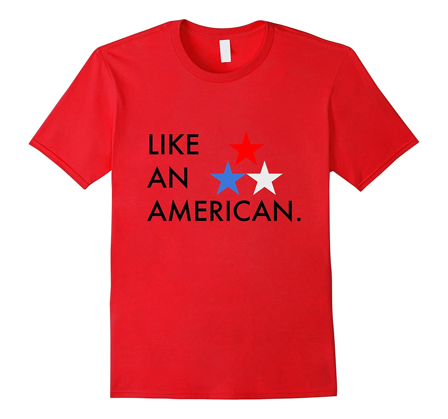 America 4th of July Tee-PL