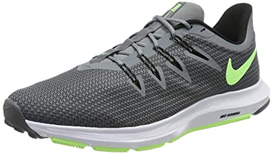 the latest 1ae0f 81025 Nike Men s Quest Running Shoes, Grey (Cool Grey Lime Blast Black
