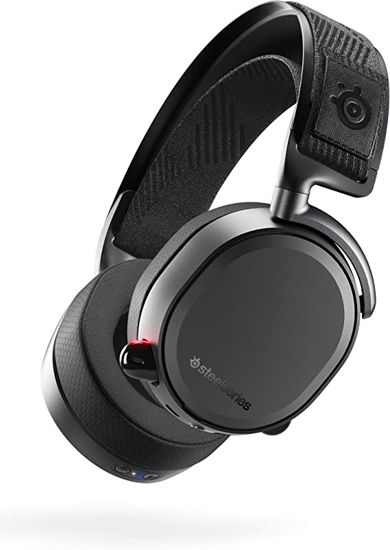 SteelSeries Arctis Pro Wireless Gaming Headset - Lossless High Fidelity Wireless Plus Bluetooth for PS4 and PC