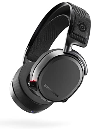 Amazon Com Steelseries Arctis Pro Wireless Gaming Headset Lossless High Fidelity Wireless Plus Bluetooth For Ps4 And Pc Black Computers Accessories