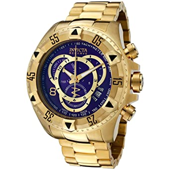 Invicta Mens Excursion Quartz Stainless-Steel Strap, Gold, 26 Casual Watch (Model