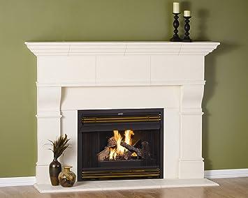 Amazoncom Edinborough Thin Cast Stone Adjustable Fireplace