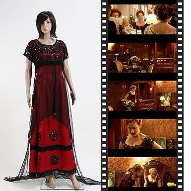 Titanic Rose Jump Kleid Kostüm Victorian (Maßgeschneidert): Amazon ...