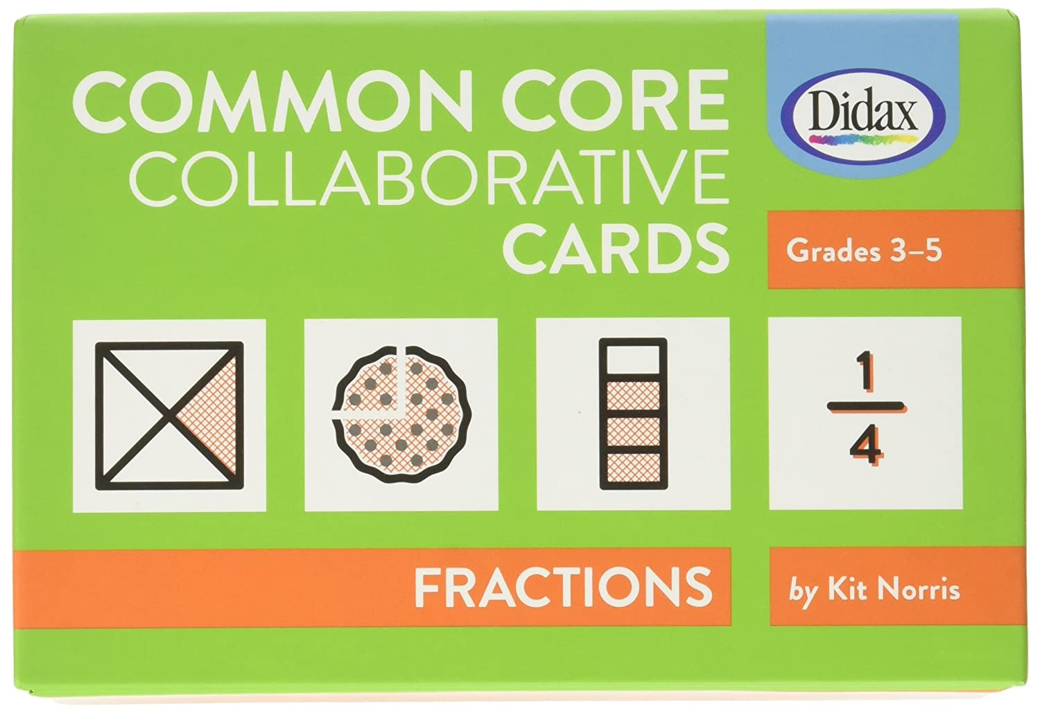 Didax Didax Didax Educational Resources gemeinsamen kollaboratives cards-fractions B00B93WTVA | Moderne Muster