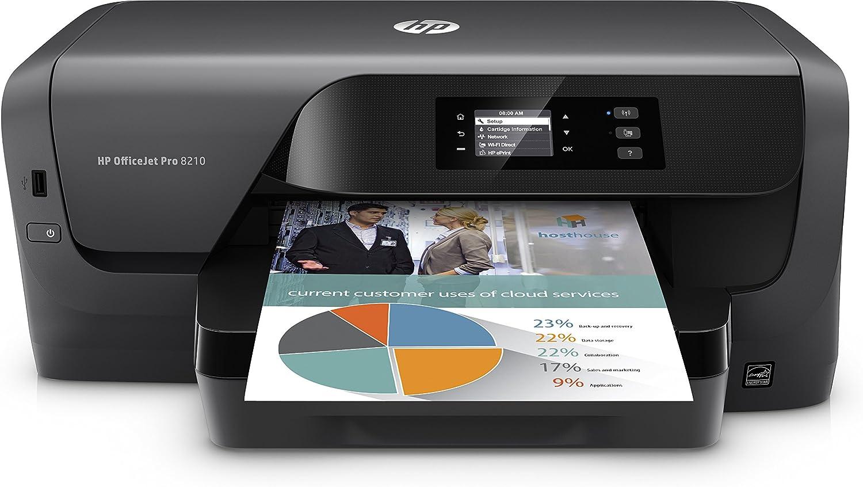 HP Officejet Pro 8210 Printer A4 22/18 Ppm In