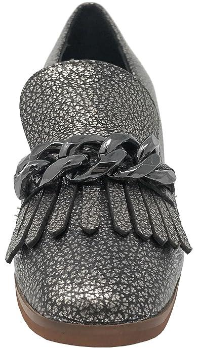 Alma en Pena I17351 Negro, Mocasines, Mujer, 40: Amazon.es: Zapatos y complementos