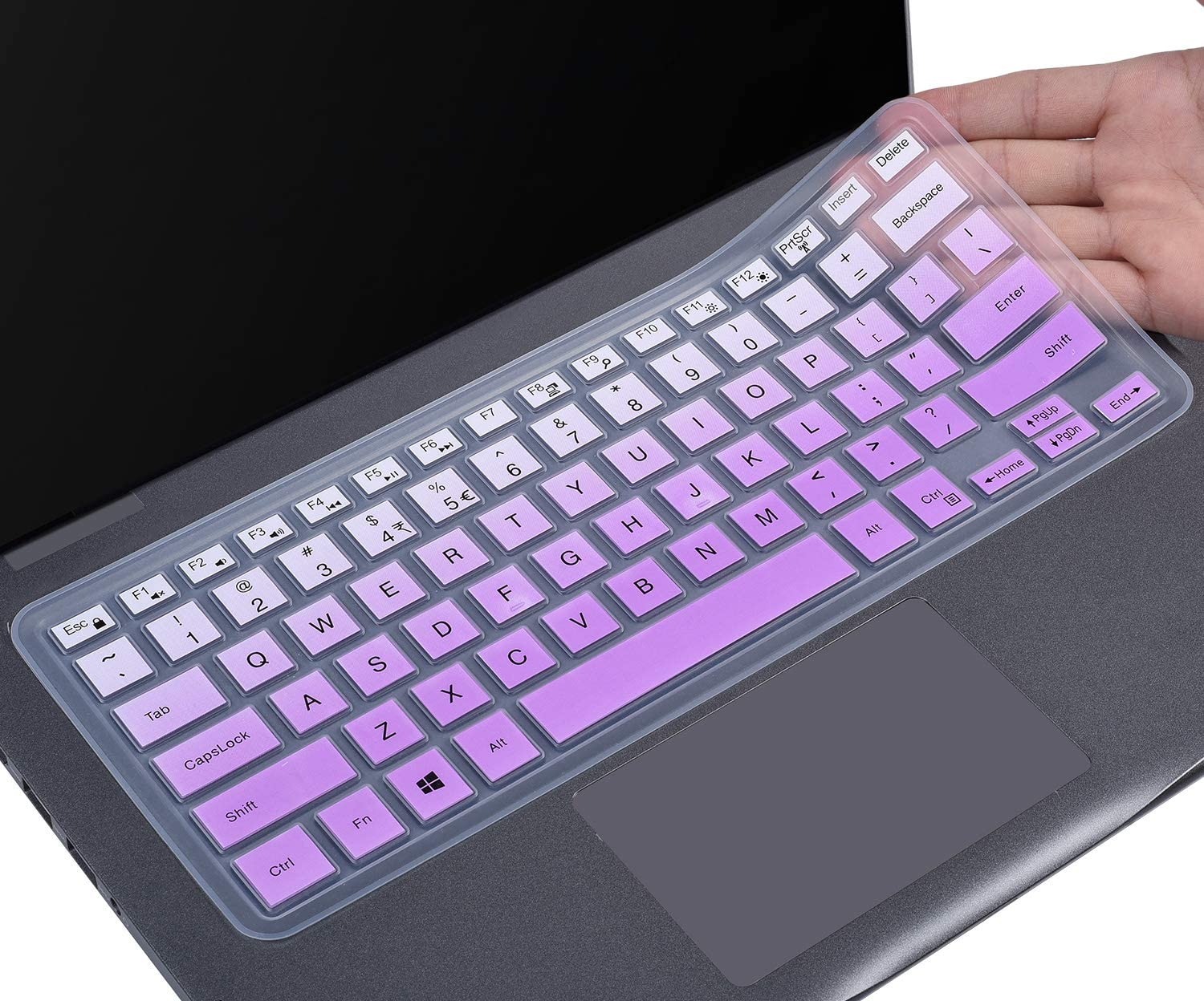 "Keyboard Cover for Dell Inspiron 14 5481 5482 5485 5491/ Dell Inspiron 13 5368 5378 5370 5379 7386 7373 7375 7368 7378 7380/15.6"" Dell Inspiron 15 i5568 i5578 5579 5585 7570 7573 7569 7579 7580 7586"