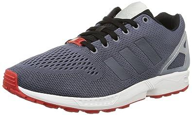 adidas Originals ZX Flux AF6330, Unisex-Erwachsene Low-Top Sneaker, Rot (Red/Core Black/FTWR White), EU 36 2/3
