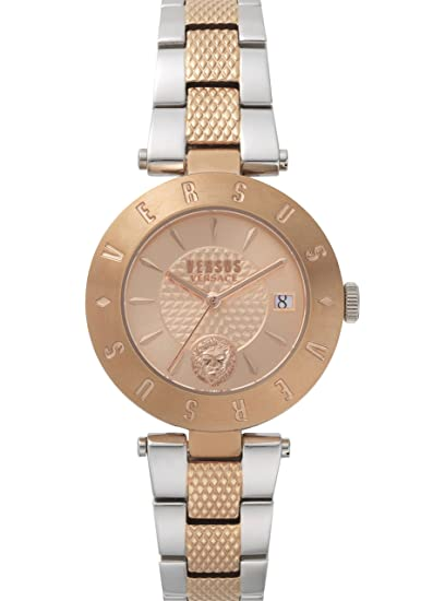 697bffd1 Versus by Versace Women's Fashion New Logo 3 Hand Quartz Rose Gold ...