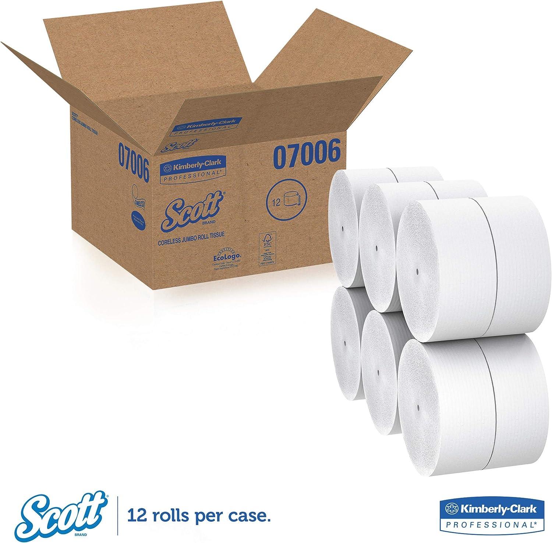 Tissue Dispenser Kimberly-Clark In-Sight Coreless JR KIM09602