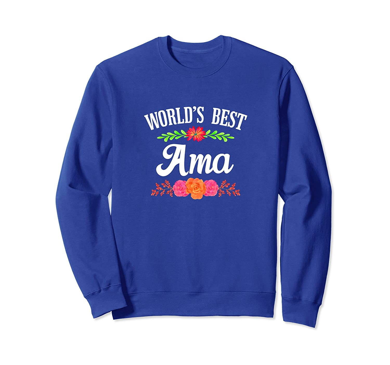 World's Best Ama - Cool Grandma Sweatshirt-TH