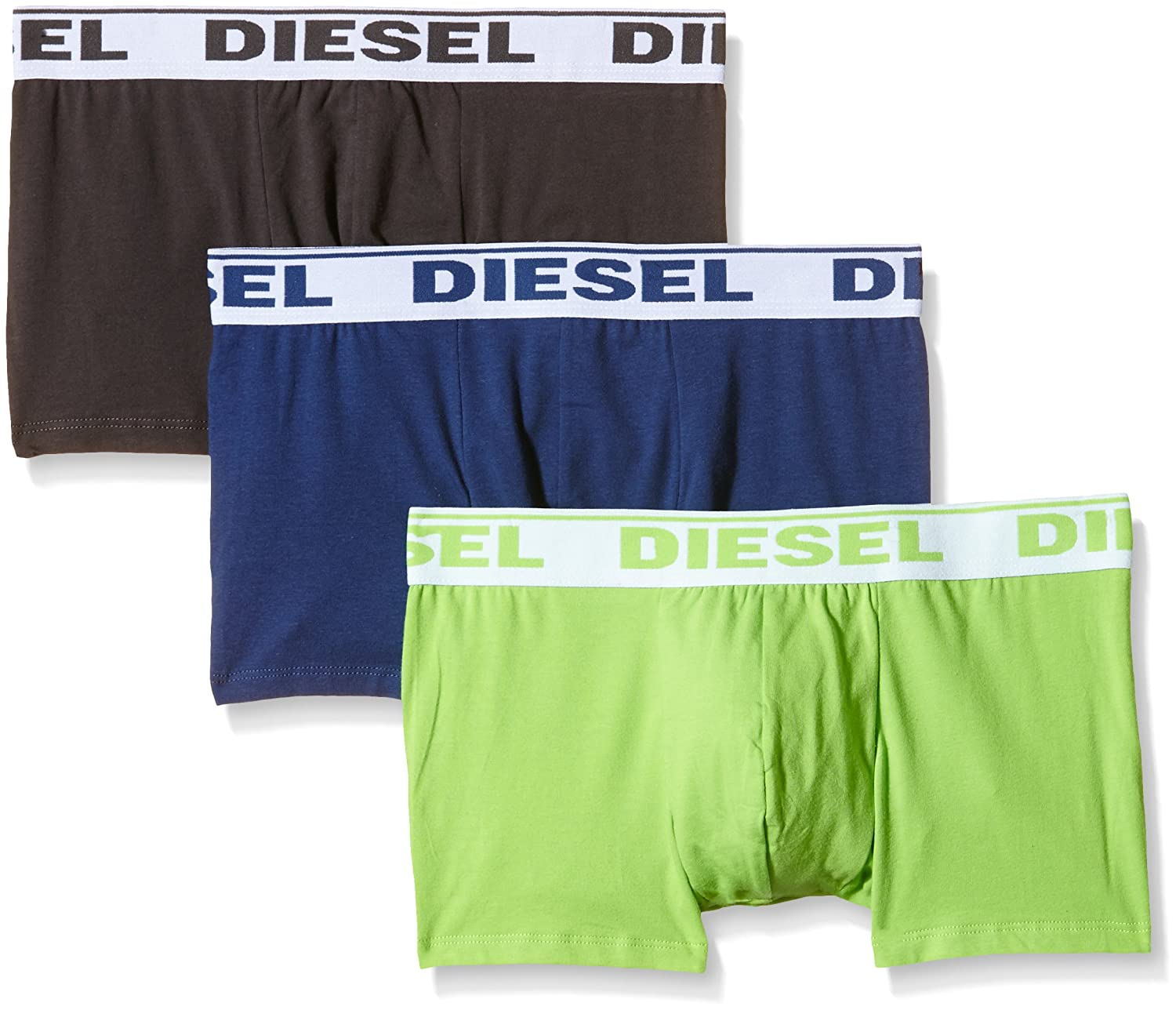 Diesel Men's 3-Pack Shawn Stretch Boxer Trunk 00SB5I0GAFN
